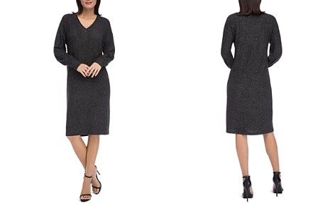 B Collection by Bobeau Janice V-Neck Knit Dress - Bloomingdale's_2
