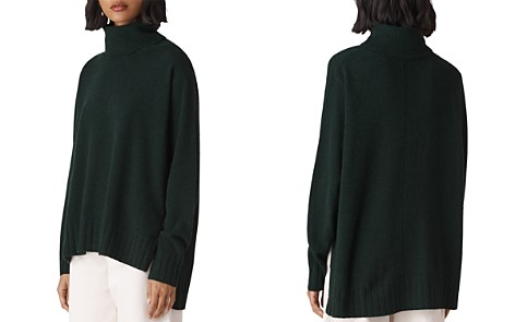 Whistles Cashmere Turtleneck Sweater - Bloomingdale's_2