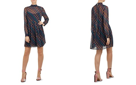 Ted Baker Colour by Numbers Allyy Heart-Print Mini Dress - Bloomingdale's_2