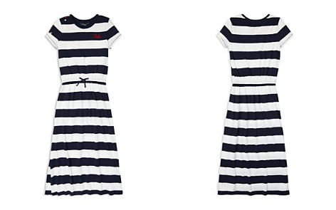 Polo Ralph Lauren Girls' Striped T-Shirt Maxi Dress - Big Kid - Bloomingdale's_2