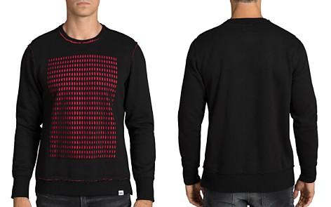 PRPS Goods & Co. Optimal Two-Tone Perforated Grid Sweatshirt - Bloomingdale's_2