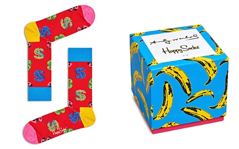 Happy Socks Andy Warhol Socks Gift Box - Set of 4 - Bloomingdale's_2