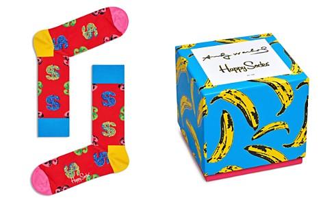 Happy Socks Andy Warhol Socks Gift Box - Set of 4 - Bloomingdale's_2