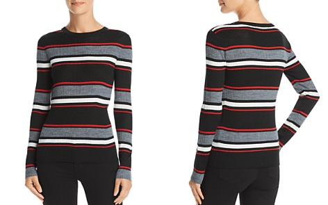 FRAME Striped Rib-Knit Sweater - Bloomingdale's_2