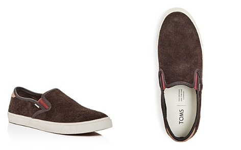 TOMS Men's Baja Suede Slip-On Sneakers - 100% Exclusive - Bloomingdale's_2