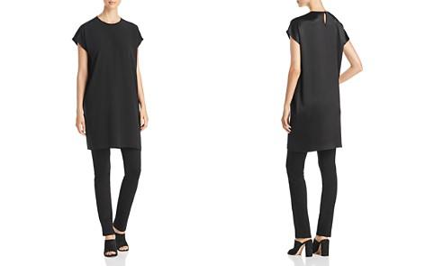Eileen Fisher Silk Shift Dress - Bloomingdale's_2