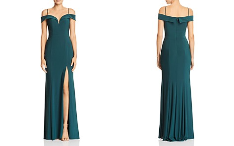 Avery G Cold-Shoulder Gown - Bloomingdale's_2