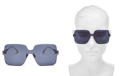 Dior Women's Colorquake Oversized Square Rimless Sunglasses, 99mm - Bloomingdale's_2