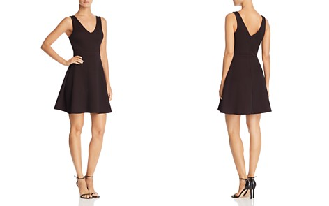 AQUA Textured Fit and Flare Dress - 100% Exclusive - Bloomingdale's_2