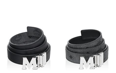 MCM Visetos Logo Reversible Belt - Bloomingdale's_2