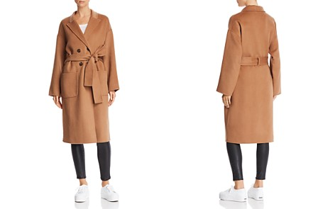 Anine Bing Dylan Wool & Cashmere Overcoat - Bloomingdale's_2