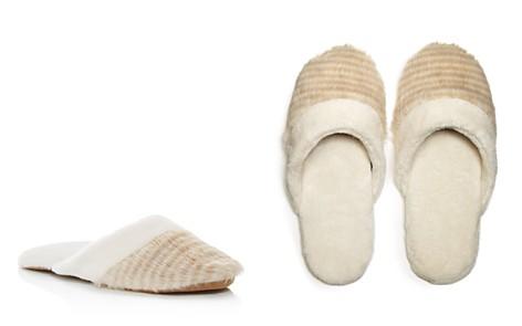 Natori Faux Fur Slippers - Bloomingdale's_2