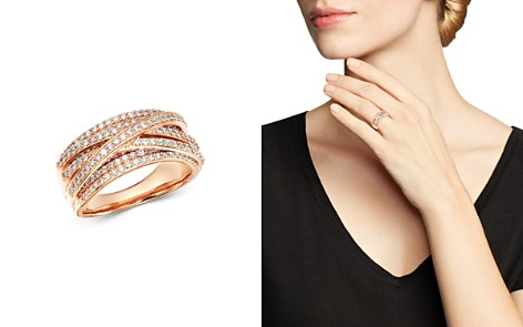 Bloomingdale's Diamond Crossover Ring in 14K Rose Gold, 1.0 ct. t.w. - 100% Exclusive_2