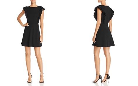 AQUA Flutter Sleeve Dress - 100% Exclusive - Bloomingdale's_2