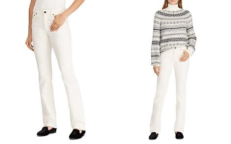 Lauren Ralph Lauren Straight-Leg Corduroy Jeans in Winter Cream - Bloomingdale's_2
