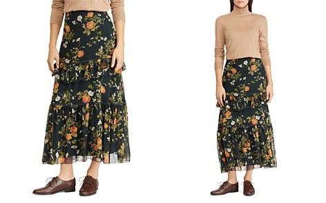 Lauren Ralph Lauren Floral Print Maxi Skirt - Bloomingdale's_2