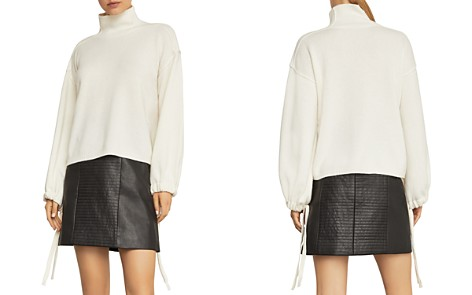 BCBGMAXAZRIA Bishop-Sleeve Sweater - Bloomingdale's_2