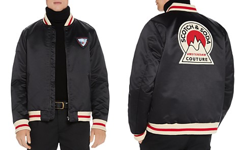 Scotch & Soda Patch-Accented Bomber Jacket - Bloomingdale's_2