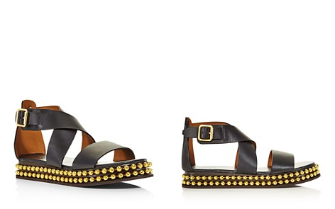 Chloé Women's Sawyer Studded Leather Platform Sandals - Bloomingdale's_2