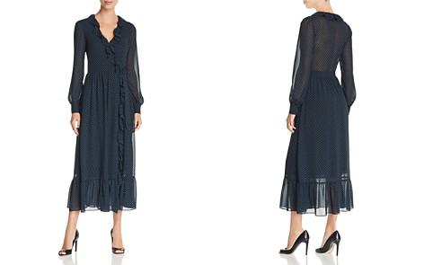 MICHAEL Michael Kors Printed Ruffle Midi Wrap Dress - 100% Exclusive - Bloomingdale's_2