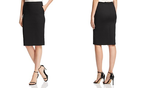 AQUA Pencil Skirt - 100% Exclusive - Bloomingdale's_2