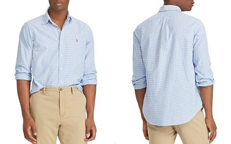 Polo Ralph Lauren Gingham Oxford Classic Fit Button-Down Shirt - Bloomingdale's_2