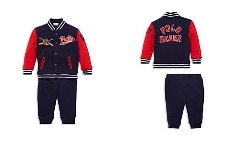 Ralph Lauren Boys' Baseball Jacket & Jogger Pants Set - Baby - Bloomingdale's_2