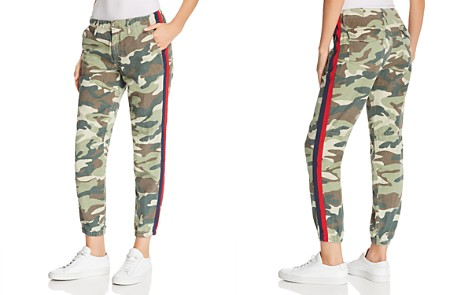 MOTHER The Misfit Side-Stripe Camo Pants - Bloomingdale's_2