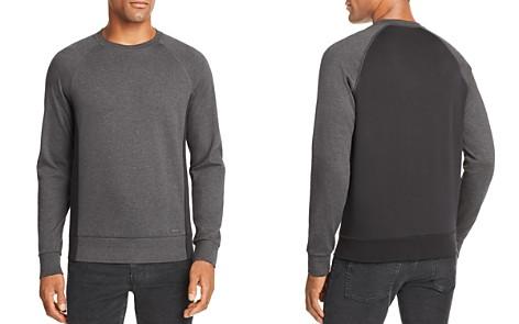 BOSS Skubic Color-Block Crewneck Sweatshirt - 100% Exclusive - Bloomingdale's_2