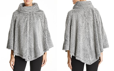 Capote Faux-Fur Cowl Neck Poncho - Bloomingdale's_2