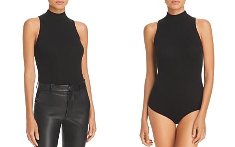 Enza Costa Mock-Neck Bodysuit - Bloomingdale's_2