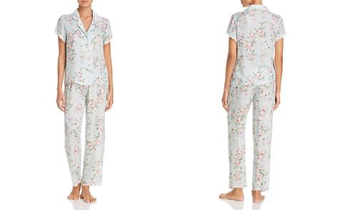 Flora Nikrooz Rose Notch Pajama Set - Bloomingdale's_2