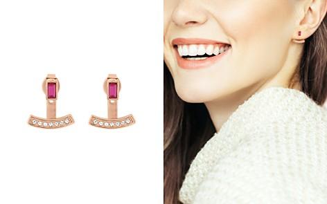 ADORE Baguette & Pavé Crystal Jacket Earrings - Bloomingdale's_2
