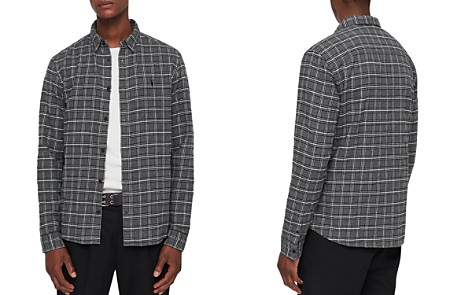 ALLSAINTS Amos Slim Fit Checked Button-Down Shirt - Bloomingdale's_2