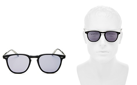 GARRETT LEIGHT Men's Brooks Mirrored Square Sunglasses, 47mm - 100% Exclusive - Bloomingdale's_2