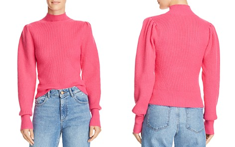 ASTR the Label Puff-Sleeve Sweater - Bloomingdale's_2