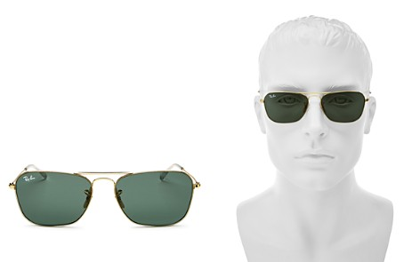 Ray-Ban Men's Brow Bar Aviator Sunglasses, 58mm - Bloomingdale's_2