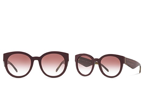 Burberry Round Sunglasses, 54mm - Bloomingdale's_2