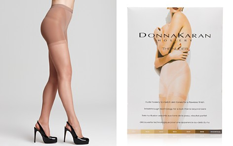 Donna Karan Hosiery Essential Toner Tights - Bloomingdale's_2