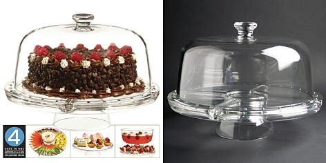 Luigi Bormioli 4 in 1 Cake Plate - Bloomingdale's_2