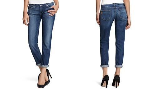 PAIGE Boyfriend Jeans in Tigerlily - Bloomingdale's_2
