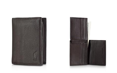 Polo Ralph Lauren Pebbled Leather Window Billfold Wallet - Bloomingdale's_2