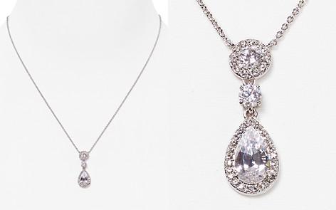 Nadri initial necklace bloomingdales nadri framed pendant necklace 14 bloomingdales2 aloadofball Choice Image