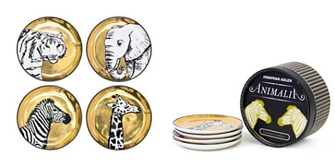 Jonathan Adler Animalia Coasters, Set of 4 - Bloomingdale's_2