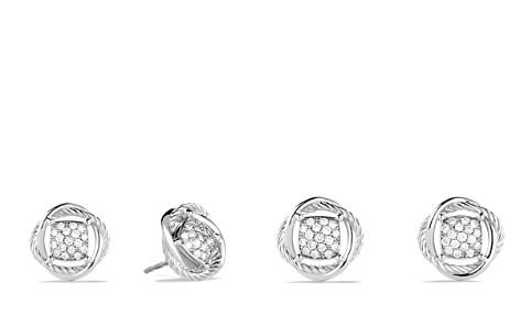 David Yurman Infinity Earrings with Diamonds - Bloomingdale's_2
