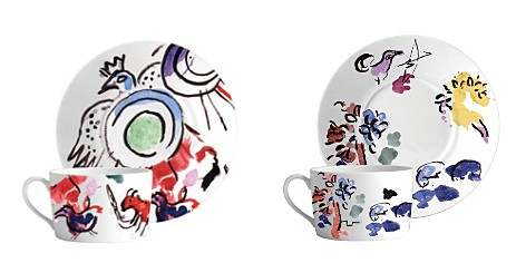 Bernardaud Marc Chagall Joseph Tribe Breakfast Cup & Saucer - Bloomingdale's_2