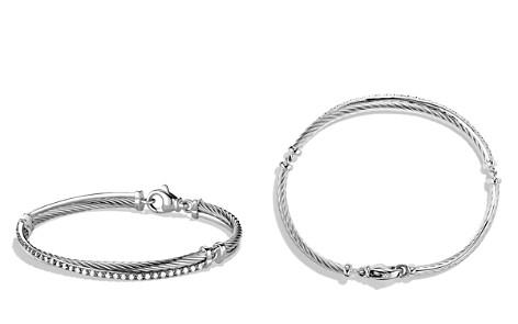 David Yurman Crossover Bracelet with Diamonds - Bloomingdale's_2
