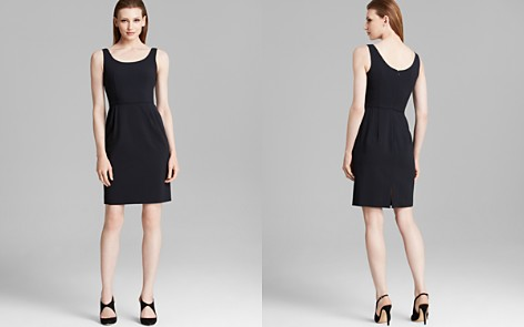 Armani Collezioni Dress - Scoop Neck Sleeveless - Bloomingdale's_2