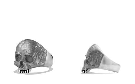 David Yurman Skull Ring with Carved Meteorite - Bloomingdale's_2