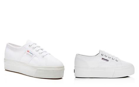 Superga Linea Lace Up Platform Sneakers - Bloomingdale's_2